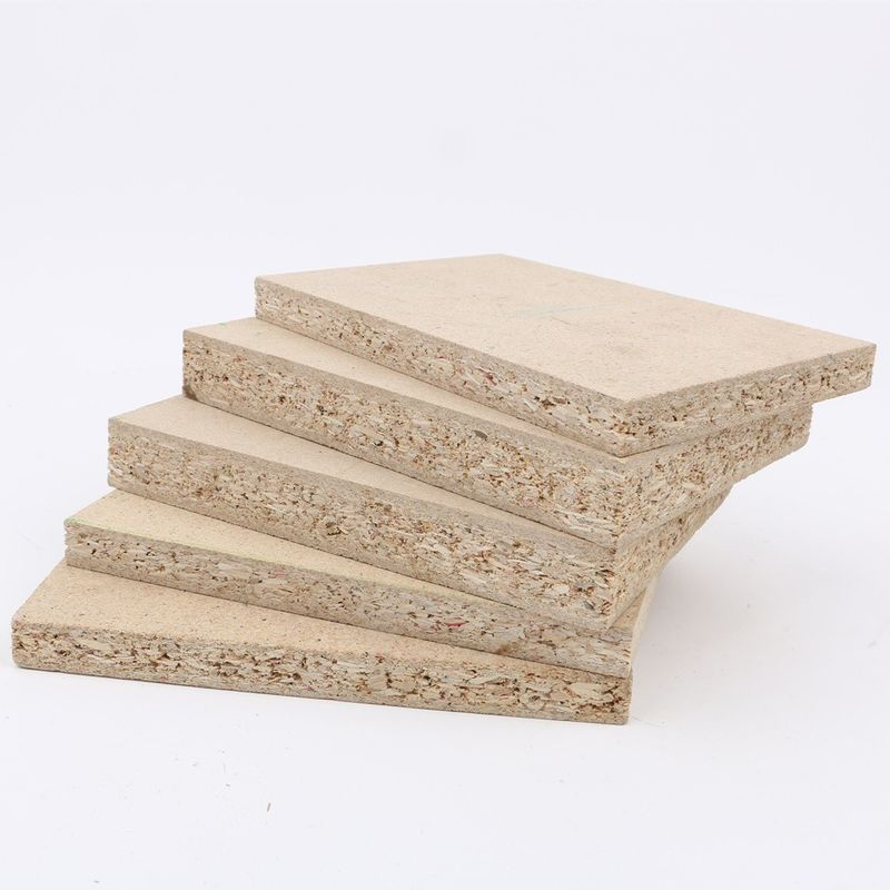 First Class Hardwood Laminated Particle Board Sheets For Furniture Raw Chipboard
