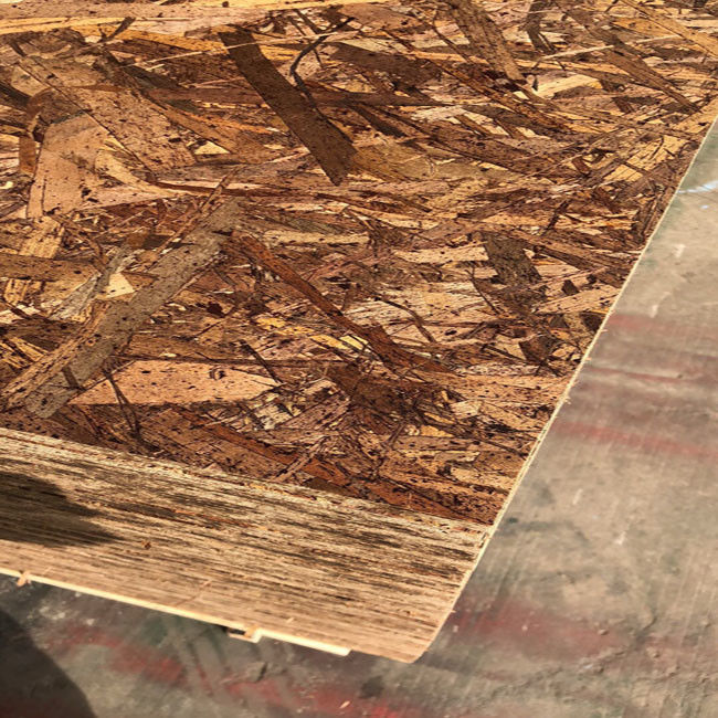 9mm 12mm 15mm 18mm E0 Glue Oriented Standard Board OSB For House Construction
